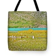 Paulina Lake Formed After Newberry Crater Erupted 1200 Years Ago In Oregon Tote Bag