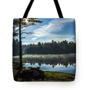 Pauper Lake Morning Tote Bag