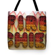 Pavilion Fire Chief Tote Bag
