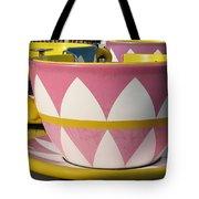 Pavilion Tea Cups Tote Bag