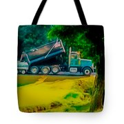 Paving Crew 2 Tote Bag