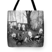 Pavlovs Dogs With Their Keepers, 1904 Tote Bag