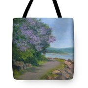 Paulownia Along The Nyack Trail Tote Bag
