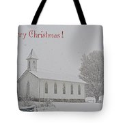 Pawpaw Church Christmas Tote Bag