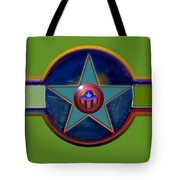 Pax Americana Decal Tote Bag by Charles Stuart