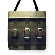 Pay Phones In Alley, Venice Tote Bag