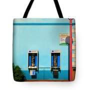 Pay Phones Tote Bag