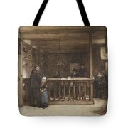 Payday, The Ships Room Right House Nieuw-loosdrecht, Furnished With Seventeenth-century Figures, Joh Tote Bag