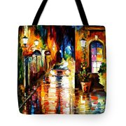 Paying A Visit Tote Bag