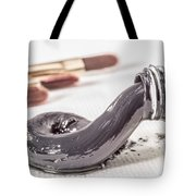Payne's Gray Oil Paint Tote Bag