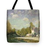 Paysage Tote Bag by Alfred Sisley