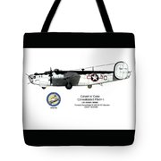 Pb4y-1 Liberator Profile Tote Bag