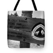 Pct Scenic Trail Tote Bag