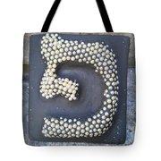 Pe, Pearls Tote Bag