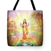 Peace And Prosperity On Earth Tote Bag