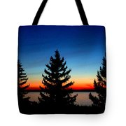 Peace And Quiet 3 Tote Bag