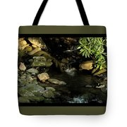 Peace And Security Tote Bag