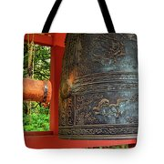 Peace Bell Tote Bag