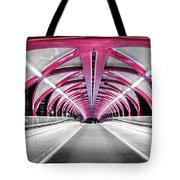 Peace Bridge Tote Bag