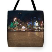 Peace But Love First Tote Bag
