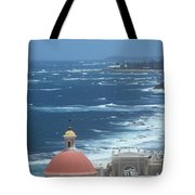 Peace By The Sea Tote Bag