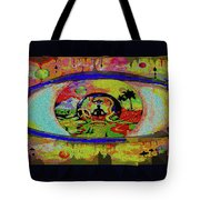 Peace Can Be Seen Tote Bag