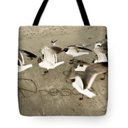 Peace Dance Tote Bag