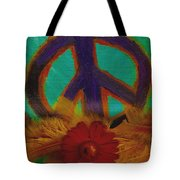 Peace Every Day Tote Bag