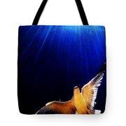 Peace Flight Tote Bag