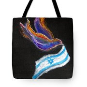 Breakthrough Peace For Israel Tote Bag