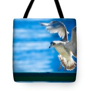 Peace Gull Tote Bag