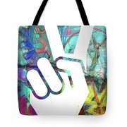 Peace Hand Sign 1  Tote Bag