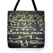 Peace I Tote Bag