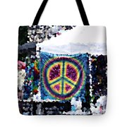Peace In The Streets Tote Bag