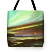 Peace Is Colorful - Square Painting Tote Bag