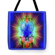 Peace Light And Love Tote Bag