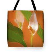Peace Lily Grace 10 Tote Bag