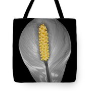 Peace Lily Isolation Tote Bag