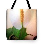 Peace Lily Luminous Tote Bag