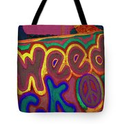 Peace Of Weed Tote Bag