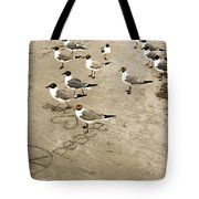 Peace On The Beach Tote Bag