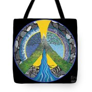 Peace Portal Tote Bag