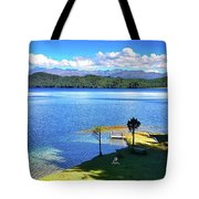 Peace Rara Lake Tote Bag