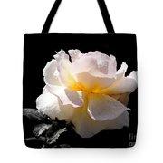 Peace Rose Inner Light Tote Bag