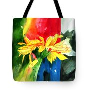 Peace Square Tote Bag