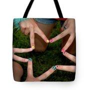 Peace Star Tote Bag