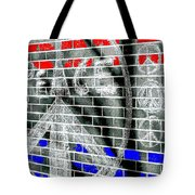 Peace Tree P Tote Bag