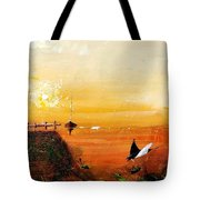 Peace Underneath 4 Tote Bag