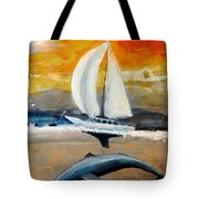 Peace Underneath Tote Bag