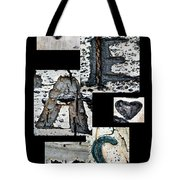 Peace Written In The Trees 3 Tote Bag